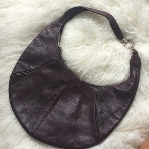 Salvatore Ferragamo Brown Leather Hobo Bag